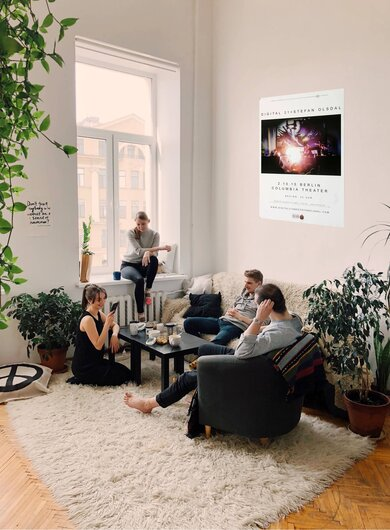 Digital 21 - Spaces, Berlin 2015 - Konzertplakat