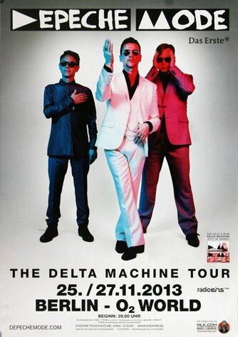Depeche Mode - The Delta Machine, Berlin 2013 -...