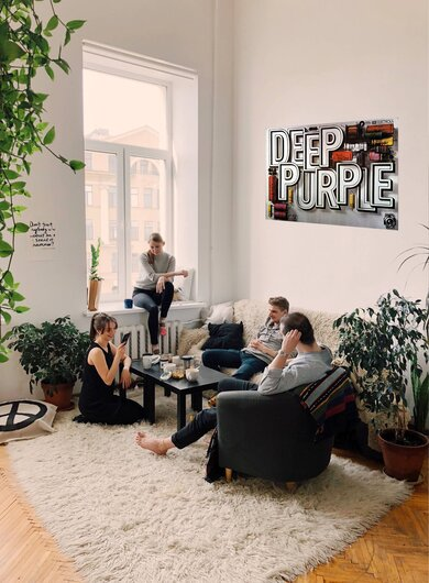 Deep Purple - Europe,  1995 - Konzertplakat