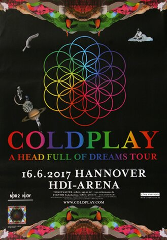 Coldplay - Head Full Of Dreams , Hannover 2017 -...