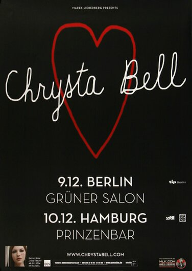Christa Bell - Angel Star, Berlin & Hamburg 2014