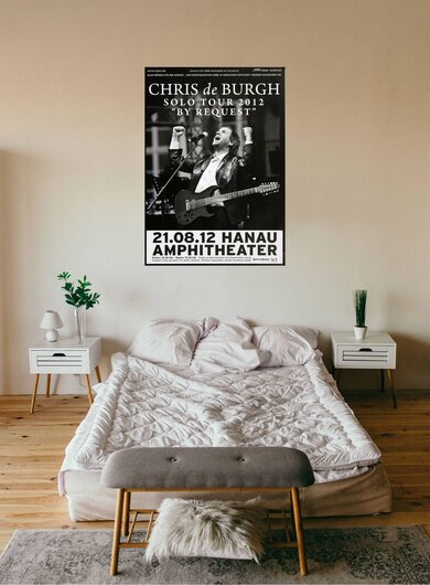 Chris de Burgh - By Request, Hanau 2012 - Konzertplakat