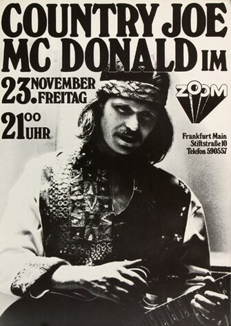 Country Joe Mc Donald - The Paris Sessions, Frankfurt...