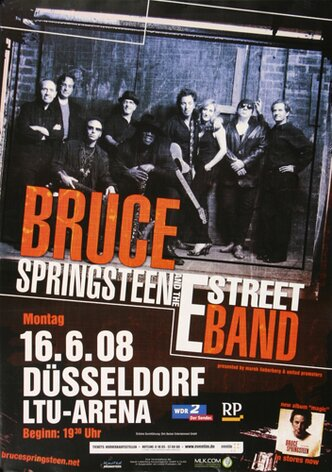 Bruce Springsteen - Magic , Düsseldorf 2008 - Konzertplakat