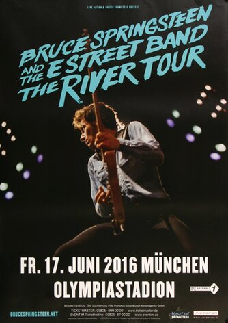 Bruce Springsteen - Live ON Stage , München 2016 -...