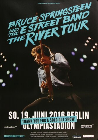 Bruce Springsteen - Live ON Stage , Berlin 2016 -...