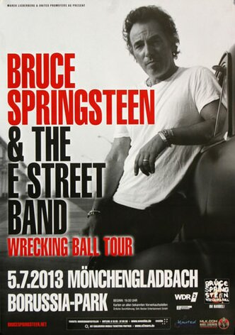 Bruce Springsteen - Wrecking Ball , Mönchengladbach 2013...