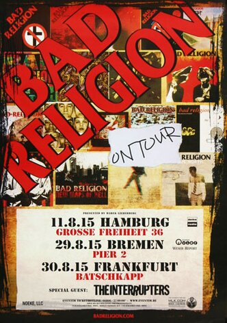 Bad Religion - New Maps Of Hell, On Tour, 2015