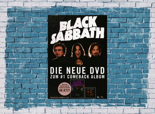 Black Sabbath - Gathered In Their Masses,  2014 - Konzertplakat