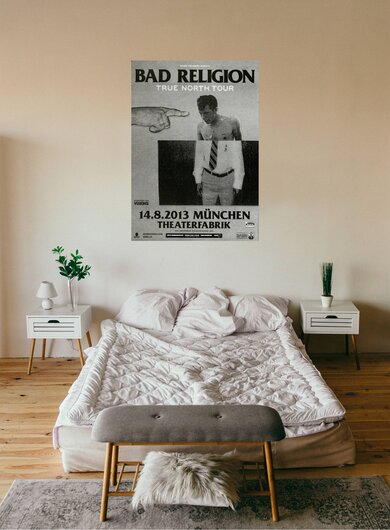 Bad Religion - True North , München 2013 - Konzertplakat