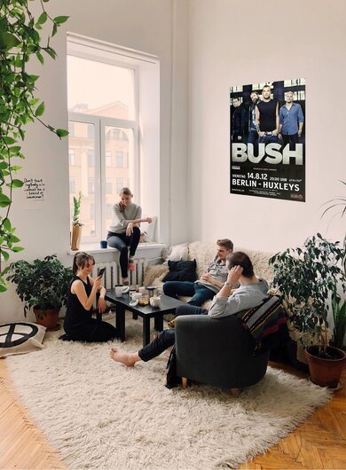Bush - See Of Berlin, Berlin 2012 - Konzertplakat