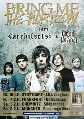Bring Me The Horizon - Alligator Blood, FRA, 2011