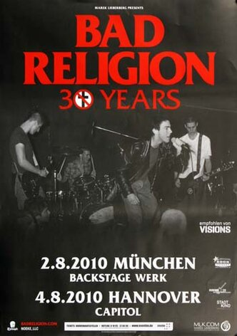 Bad Religion - 30 Years Mix, München & Hannover 2010 -...