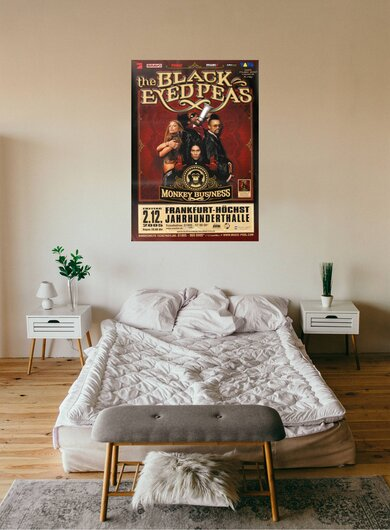 The Black Eyed Peas -  Monkey Business, Frankfurt 2005 - Konzertplakat