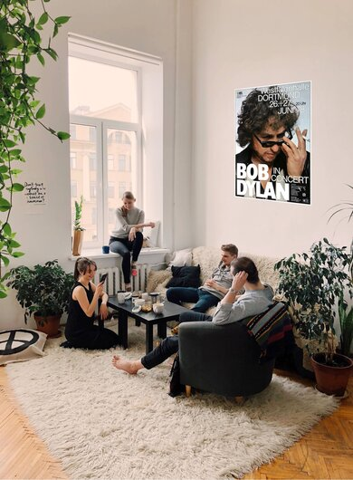 Bob Dylan and His Band - Street Legal, Dortmund 1978 - Konzertplakat