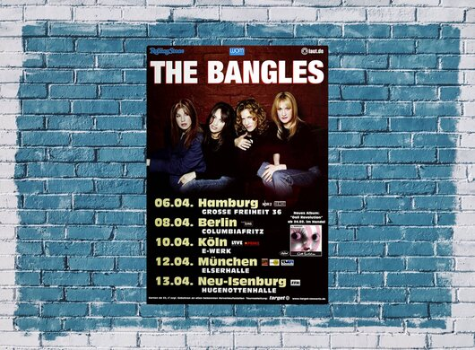 The Bangles - Doll Revolution, Tour 2003 - Konzertplakat