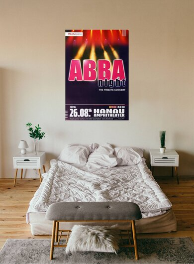 ABBA - The Show - The Tribute, Hanau 2016 - Konzertplakat