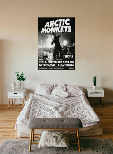 Arctic Monkeys - AM Tour , Frankfurt 2013 - Konzertplakat