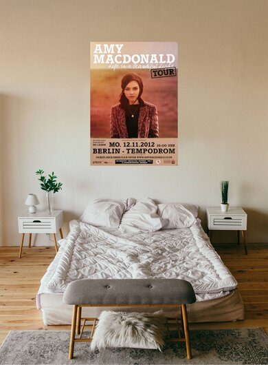 Amy MacDonald - This Is The Life , Berlin 2012 - Konzertplakat