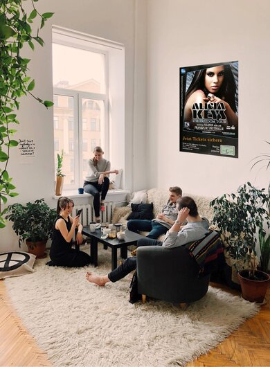 Alicia Keys - The Freedom, Frankfurt 2010 - Konzertplakat