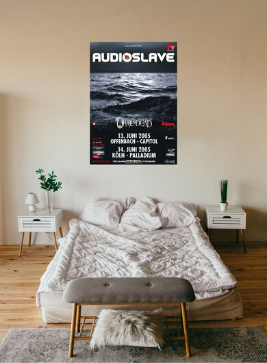 Audioslave - Out Of Exile, Tour 2005 - Konzertplakat