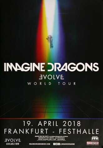 Imagine Dragons - Evolve World , Frankfurt 2018 -...