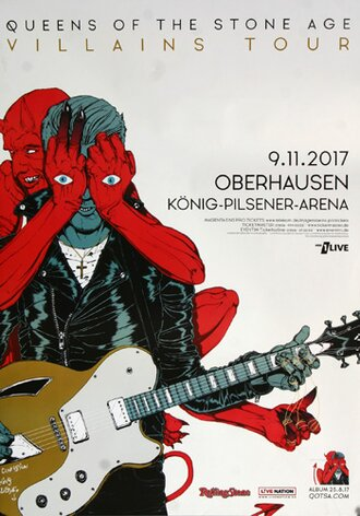 Queens of the Stone Age - Villains , Oberhausen 2017 -...