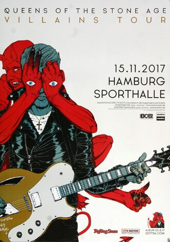 Queens of the Stone Age - Villains , Hamburg 2017 -...