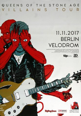 Queens of the Stone Age - Villains , Berlin 2017 -...