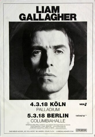 Liam Gallagher - As You Were, Köln & Berlin 2018 -...
